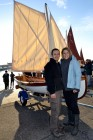 Chelsea Davine - Whitehall skiff with Matt Cotterill and Yvette Smith newly engaged
