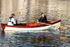 Derek Thompson LRPS - Mark Cotterill Whitehall skiff on the water