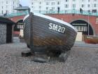 Brighton Fishing Museum beach punt Helping Hand
