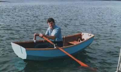 Selway Fisher designed Skylark dinghy
