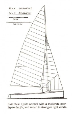 Redwing dinghy scan