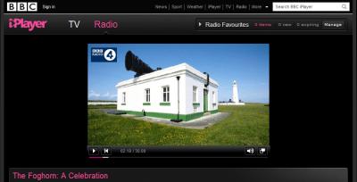 Foghorns on the BBC