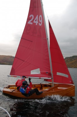 Good Wood Boat Redwing