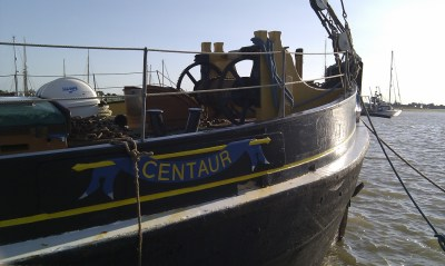 Brightlingsea sailing barge Centaur