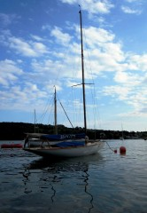 Fife One Design yacht Elsie photographed by Tiernan Roe