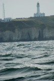 Flamborough lighthouse taken from the Spider T July 31 2011
