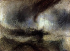 Joseph Mallord William Turner - Snow Storm - Steam-Boat off a Harbour's Mouth