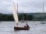 Stirling and Son 14ft dinghy Sailing Twice Reefed Down
