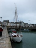 Brittany Le Croisic harbour sailing yacht Kurun