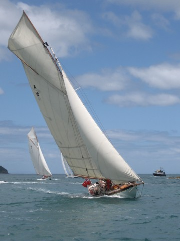 Mahurangi Classic Yacht Regatta 2 photograph by Paul Mullings