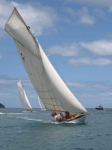 Mahurangi Classic Yacht Regatta 2 photograph by Paul Mullings