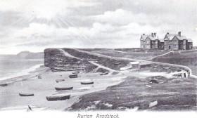Burton Bradstock postcard