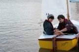 Shane Butcher's composite dinghy 'Dreamer' Photo - Emma Brice