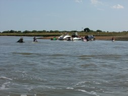 Oare Creek to the Colne and back boating Essex style