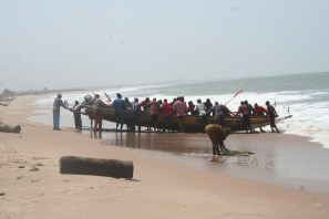 The boats of The Gambia