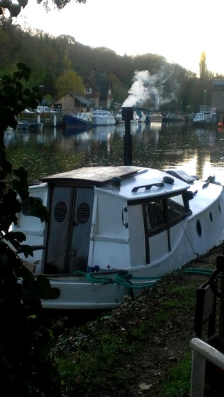 Boats on the Medway at Allington 18