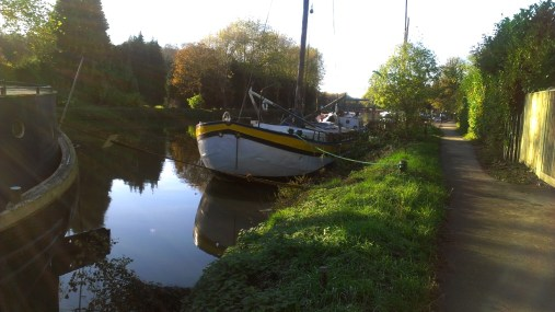 Boats on the Medway at Allington 2