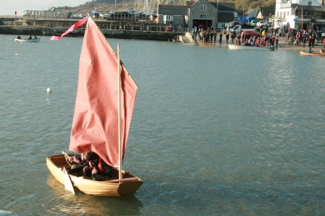Humble Bee clinker built dinghy photo by Emma Brice 1