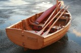 Humble Bee clinker built dinghy photo by Emma Brice 2