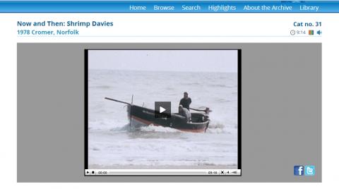 Now and Then film Shrimp Davies