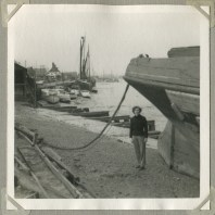 Ships and the Essex Coast – photos my father took in 1955-7