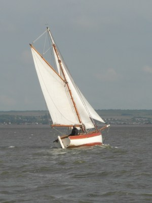 In the Swale 21 June 2013 cutter 3