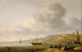 Charles_Brooking_-_A_Beach_Scene_near_Scheveningen