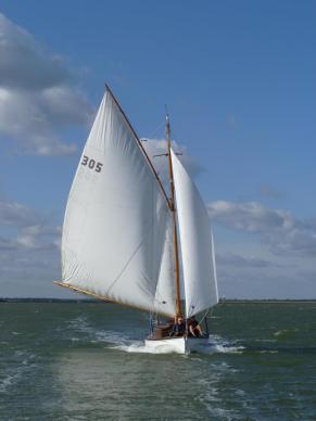 1Cover, Late season sail on Breydon Water. photo AMD
