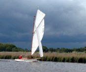 2 Amaryllis at Acle Regatta. photo AMD
