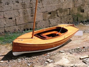 Stirling and Son three quarter deck dinghy