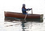 10' traditional clinker rowing boat © Derek Thompson December 2013 (194)