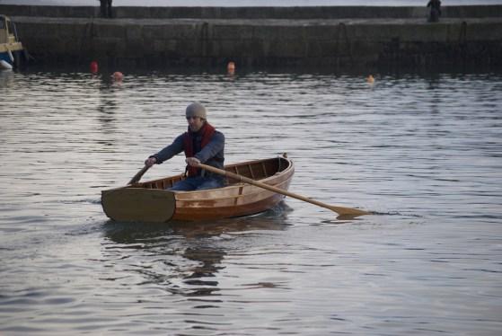 10' traditional clinker rowing boat Paul Dyer 4728