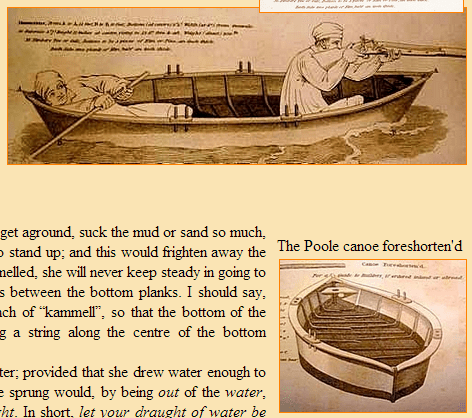 The original Poole canoe