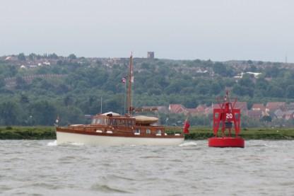 Medway Bradwell Brightlingsea Pyefleet trip 45