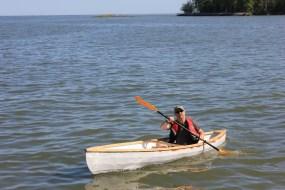 Tod Kerr Cinderella canoe 1