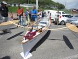 14.5' Composite sailing canoe. Photo by Becky Joseph 100614 (52)