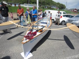 14.5' Composite sailing canoe. Photo by Becky Joseph 100614 (52)