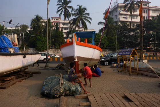 Matthew Atkin photographs the boats of Mumbai
