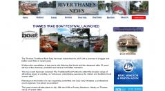 River Thames News Thames Trad Boat Festival