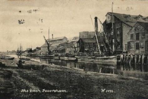 The Creek, Faversham 1905