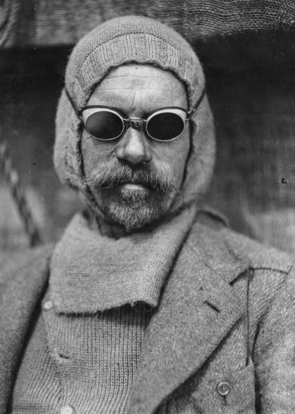 Frank Wild (1873 - 1939) in summer garb during the Imperial Trans-Antarctic Expedition, 1914-17, led by Ernest Shackleton. (Photo by Frank Hurley/Scott Polar Research Institute, University of Cambridge/Getty Images)