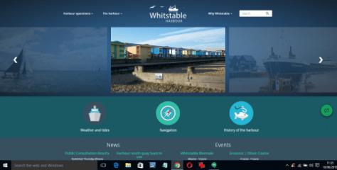 Whitstable Maritime website