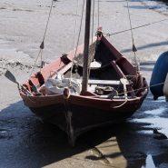 Replica Anglo-Saxon boat
