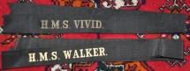 P10 Royal Navy hat bands Vivid and Walker a