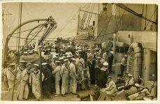 P2 HMS Barham crew (HM Sales by gun) Sep 1917