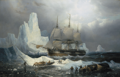 HMS Erebus in the Ice, 1846 © National Maritime Museum, London