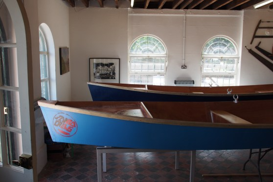 Schoolchildren build two Julie skiffs at Faversham