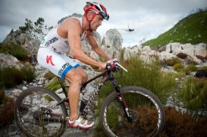Dan Hugo in action during the 2014 Totalsports XTERRA South African Championship presented by Rehidrat Sport. Photo: Cherie Vale / Newsport Media