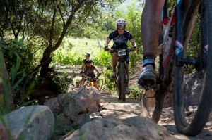Riders sporting Craft Functional Sportswear at the 2013 FNB Wines2Whales MTB Events. Photo: Cherie Vale / NEWSPORT