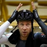 Voigt breaks cycling's hour record